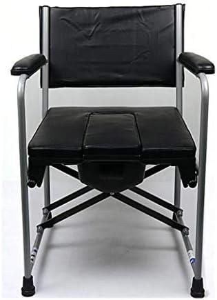 介護用ポータブルトイレ椅子 簡易便座 トイレ ポータブル 折りたたみ 高さ調整可 便器 チェア 大人用トイレ老人用 女性および子供用 高齢者用 ベッドサイド 妊婦