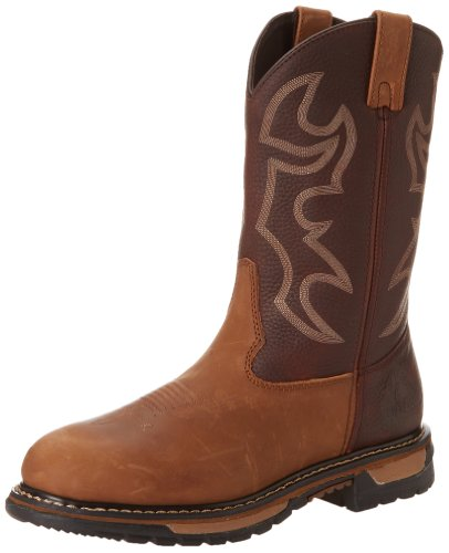 Rocky Men's Original Ride Bridal Work Boot,Crazy Horse,9 M US