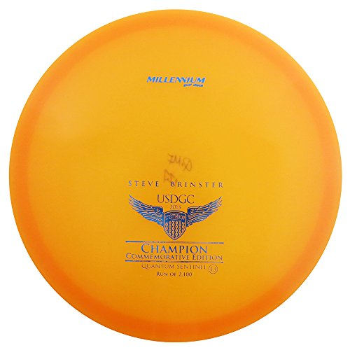 2013 Approach Pack (Millennium Limited Edition Steve Brinster 2013 USDGC Quantum Sentinel MF Mid-Range Approach Golf Disc [Colors May Vary] - 170-174g)