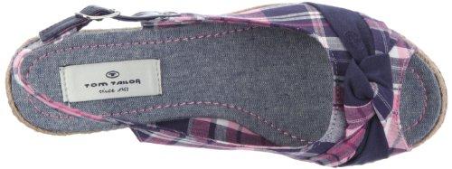 Tom Tailor Florida 416700001995 - Sandalias de vestir de lona para mujer Azul