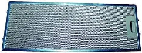 ANCASTOR Filtro METALICO Campana NODOR 65200290 FER41NR0017: Amazon.es: Hogar