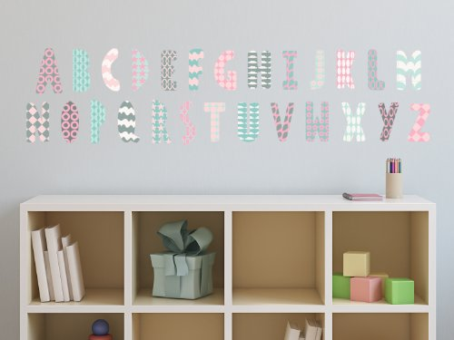 Sunny Decals Modern Alphabet Patterns