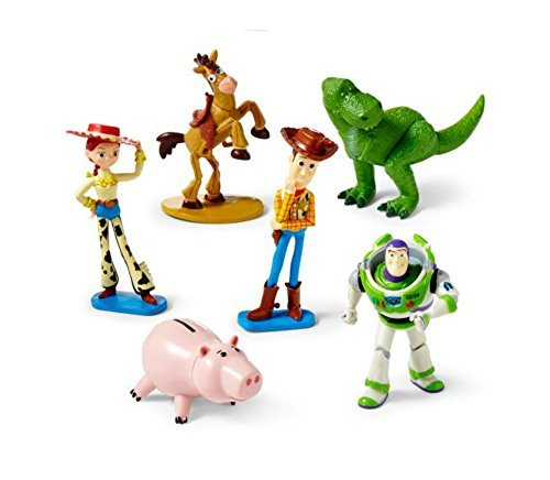 Disney Toy Story Figure Play Set – Disney Toy Story Figurine Cake Toppers Decorative Play Set