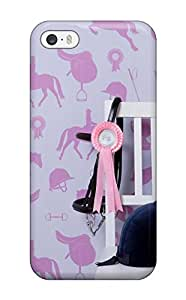 AnnDavidson CBKsfSc11118RsMRO Case Cover Iphone 5/5s Protective Case Horse For Girls Bedroom
