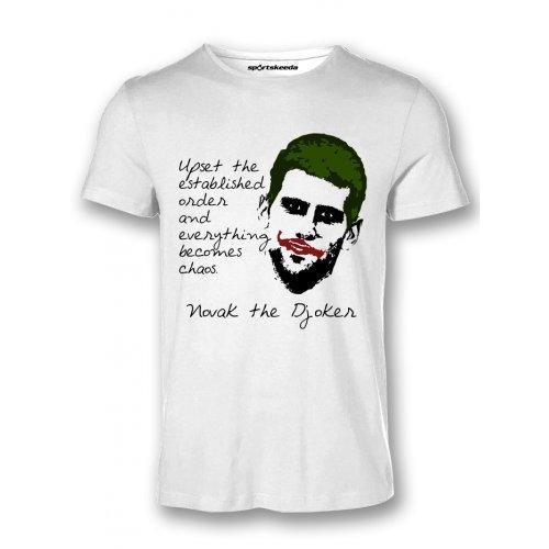 Buy Sportskeeda Novak Djokovic The Djoker Tennis T Shirt Xxl Online At Low Prices In India Amazon In