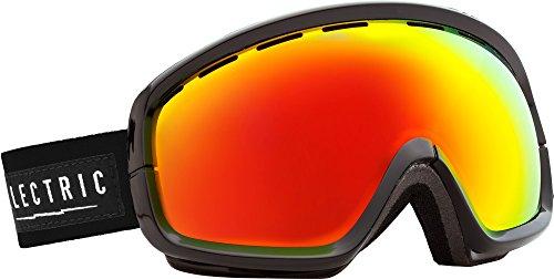 Electric EGB2S Goggles Gloss Black/Bronze/Red Chrome Bonus Lens, One - Egb2 Electric Lens