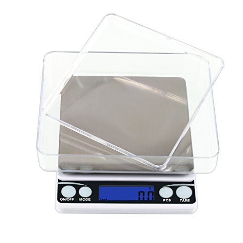 BOJIN-Digital-Kitchen-Food-Scale-44lb-2kg-Small-Size-and-More-Accurate-Measuring-Cooking-Scale-Electronic-Stainless-Steel-Cover-Include-Size63-x-51-x-14-inches