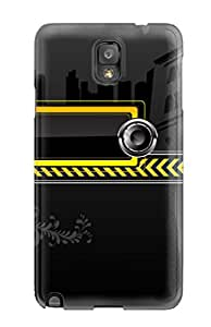 Areebah Nadwah Dagher's Shop 8476656K33170695 Awesome Case Cover/galaxy Note 3 Defender Case Cover(musical Vector)