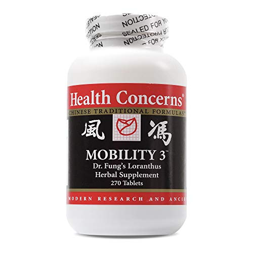 Health Concerns – Mobility 3 – Dr. Fung's Loranthus Herbal Supplement – 270 Tablets