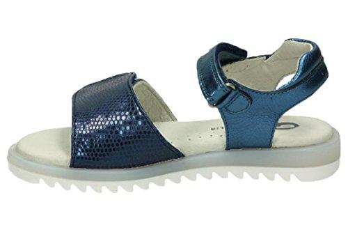 Garvalín 172410a - Sandalias con Tacón Niñas Blue