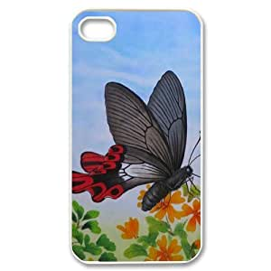 Butterfly Unique Design Case for Iphone 4,4S, New Fashion Butterfly Case