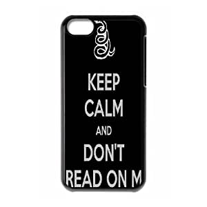 Don't Tread On Me ZLB520659 Custom Phone Case for Iphone 5C, Iphone 5C Case