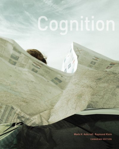Cognition, First Canadian Edition