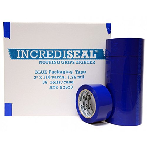 "INCREDISEAL Polypro Packaging Tape, 2"" x 110 yd, x 2.10 mil,"