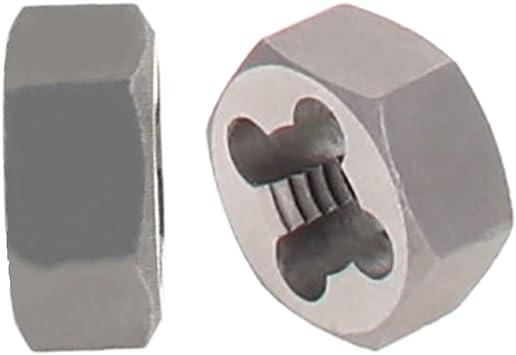6g Hex Rethreading Die M6 X 1 Pitch Steel Carbon Metric Hexagon Taper Pipe Die Accuracy Grade