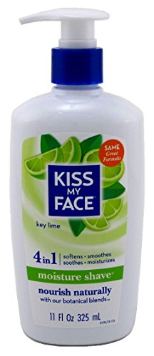 Key Lime Cream - Kiss My Face Shave Moist Key Lime