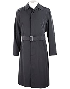 Calvin Klein Men's Full Length All Year Round Raincoat with Belt