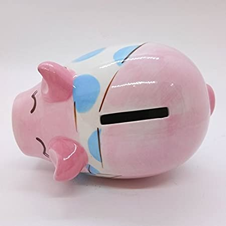 Ant Cute WitnyStore Piggy Bank Ceramic Cute Handmade Paint Coat Figurine Fancy Animal Decor Collect Coin Hight Quality
