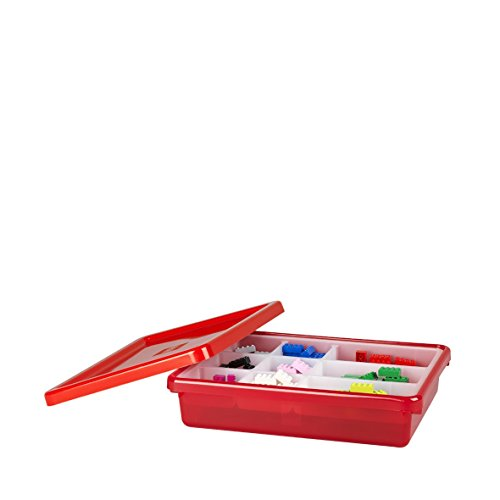 Lego Storage Bin, Small, Red