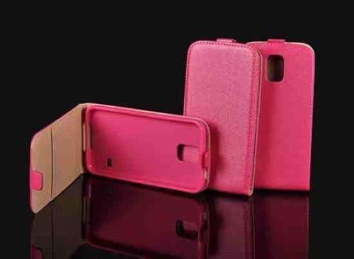 Piel de Imitación Flexi Rosa para Alcatel One Touch Pop C7 7041 X 7040 A 7040 F funda Flip cover Flexi silicona funda: Amazon.es: Electrónica