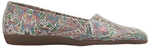 Setter Aerosoles Slip White Women's On Trend Blue Multi Loafer E4qP4