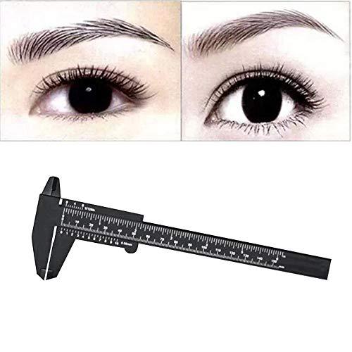 Clearance Sale!UMFun 150mm Microblading Reusable Makeup Measure Eyebrow Guide Ruler Permanent Tools ()