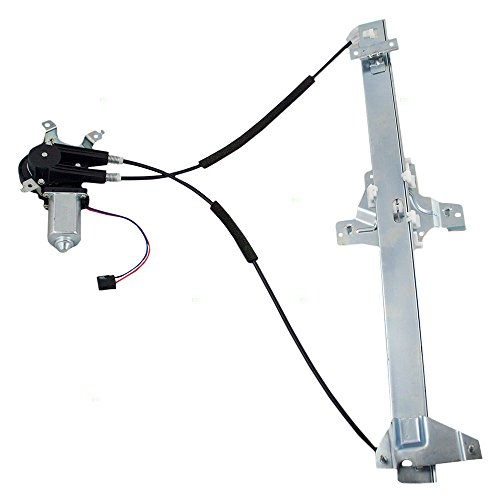 (Passengers Front Power Window Lift Regulator with Motor Assembly Replacement for Ford Van 9C2Z1523200A)