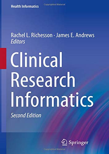 Clinical Research Informatics (Health Informatics) by Springer