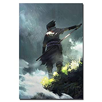 Amazon.com: 136381 Naruto Last Uzumaki Ninja Fighting Japan ...