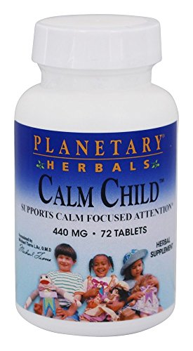Planetary Herbals Calm Child Tabs 440 mg-72 Tablets