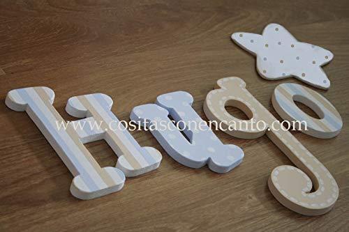 Letras de madera FUN. Nombres decorativos. Carteles para ...
