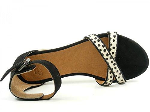 Sandales PMS Mode Nantes Femme SPM Schwarz 40496982 BxR1xaS