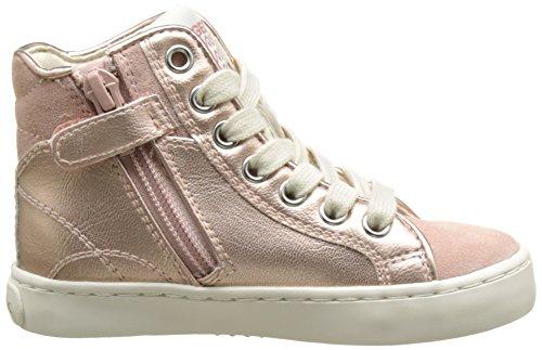 Geox Mädchen JR Kilwi Girl High-Top, Pink (Dk Rosec8007), 24 EU
