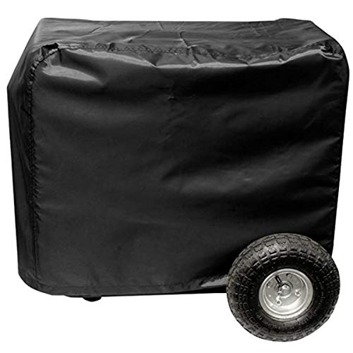 Wakaka Outdoor Generator Cover Water Proof/UV Resistant Generator Cover/Tent with Hook and Loop (33in)