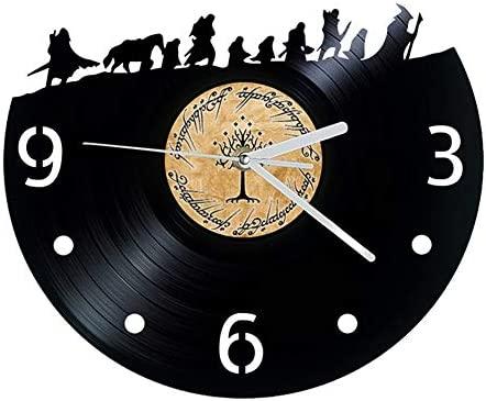 ZX Reloj de Pared de 12 Pulgadas Anillo Rey Película Reloj ...