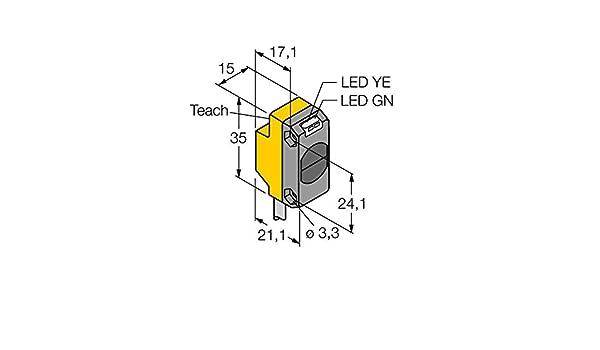 3069217 - QS18 ep6 W, Opto sensor Reflexion Lic httaster: Amazon.es: Industria, empresas y ciencia