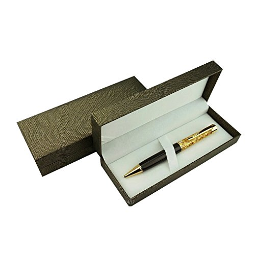 Executive Pen 24K Gold with Gift Box, Long-Lasting Fine Ballpoint Writing  Pens by Zone - 365 (Jet-Black 24K)