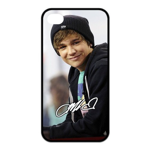 Fayruz- Austin Mahone Protective Hard TPU Rubber Cover Case for iPhone 4 / 4S Phone Cases A-i4K236