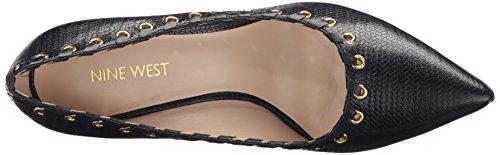 Nine West Women's Torres Leather Pump Navy wVAYIGL