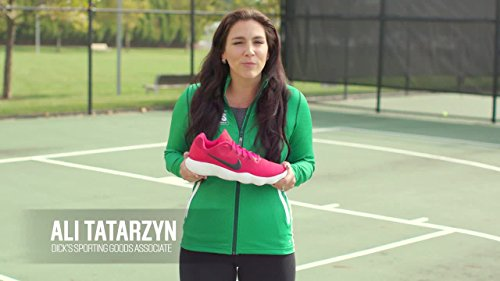 Nike Mens React Hyperdunk 2017 Low Basketball Shoes Us) Università Rosso / Argento