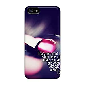 Hard Plastic Iphone 5/5s Case Back Cover,hot Tears Has Language Case At Perfect Diy
