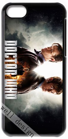Doctor Who British science-fiction TV series HD image case for iphone 5c black + Card Sticker (Sarah Jane Adventures Season 3 compare prices)