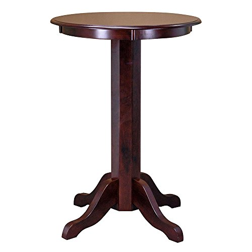 Signature Pub / Bistro Table (Cinnamon) by Fairview Game Rooms (Image #3)