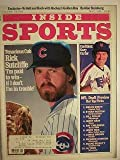 Inside Sports - May 1985 - Rick Sutcliffe