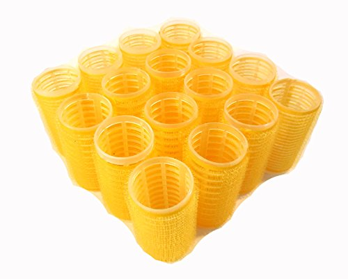 Medium Size Self Grip Hair Rollers Pro Salon Hairdressing Curlers by HAIR ROLLERS (Image #1)