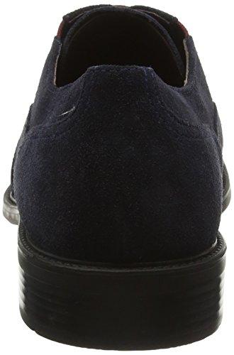 Geox Uomo Carnaby H, Zapatos de Cordones Oxford para Hombre Azul (Navy)