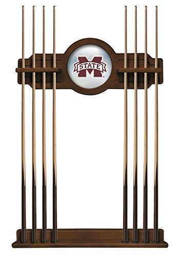 Mississippi State Cue Rack in Chardonnay Finish by Holland Bar Stool Co.
