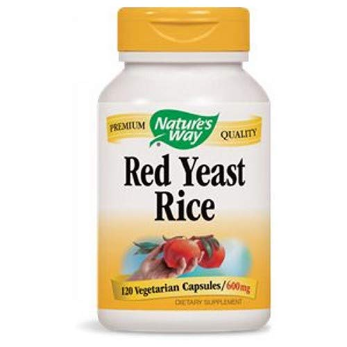 NatureS Way Red Rice Yeast 120 Vcap