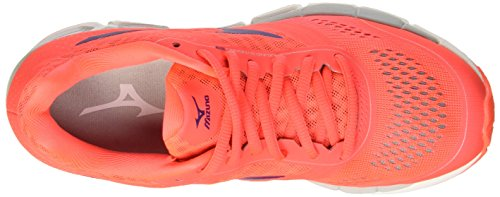 Mizuno Synchro Mx WOS, Women's Training Red (Fierycoral/Mulberrypurple/Highrise)