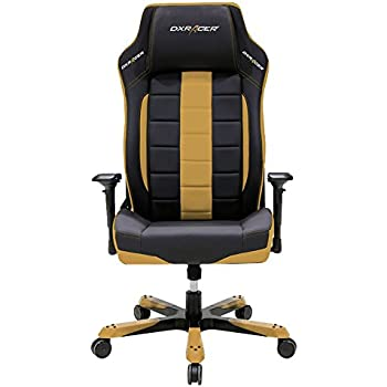 DXRacer Boss Series Big and Tall Chair DOH/BF120/NC Office Chair Comfortable Chair  sc 1 st  Amazon.com & Amazon.com: DXRacer Boss Series Big and Tall Chair DOH/BF120/NC ...